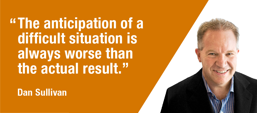 Quotable Coach: Anticipation Of A Difficult Situation
