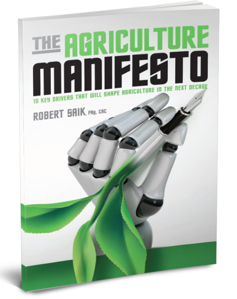 "Cover of ""The Agriculture Manifesto"" by Rob Saik."