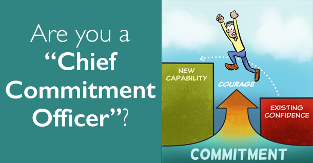 """Are you a """"Chief Commitment Office""""?"""