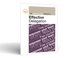 Download The Strategic Coach Approach To Effective Delegation.