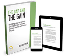 "Get The Free eBook ""The Gap And The Gain"" now."