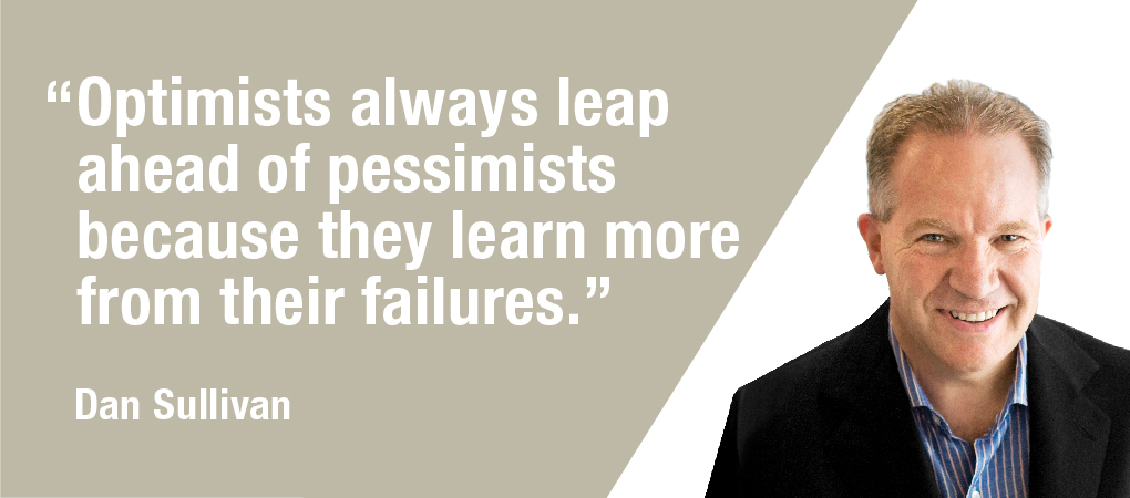 Quotable Coach: Why Pessimists Fail Twice While Optimists Leap Ahead