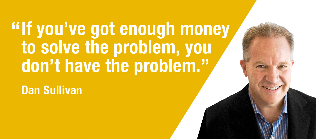 Quotable Coach: What Are Your Problems Worth?